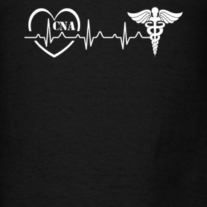 CNA Heartbeat Shirt - Men's T-Shirt