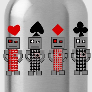 Robot Cards - Water Bottle