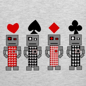 Robot Cards - Men's Premium Tank