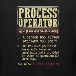 Process Operator Badass Dictionary Term T-Shirt T-Shirts - Men's Premium Tank
