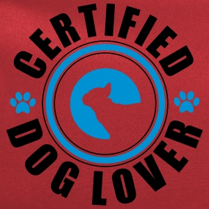 Certifed Dog lover T-Shirts - Computer Backpack