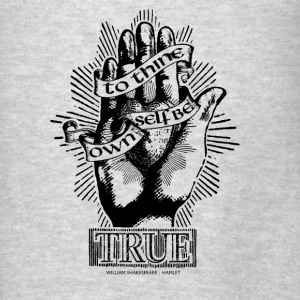 Be True Hoodies - Men's T-Shirt