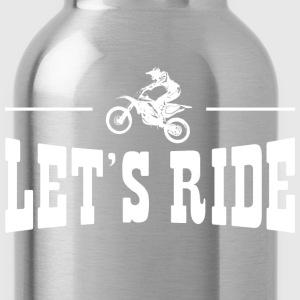 Lets Ride Dirt Bike T-Shirts - Water Bottle