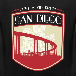 Kid from San Diego - It's where my story begins - Men's Premium Tank