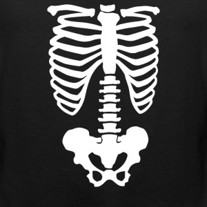 Rib Cage Pelvic Body Skeleton - Men's Premium Tank