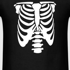 Rib Cage Body Skeleton Halloween Cool Awesome - Men's T-Shirt