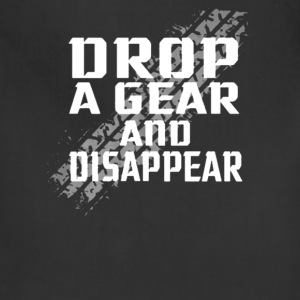 Motorcycle - Drop a gear and disappear - Adjustable Apron