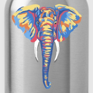 Abstract Elephant Tank  - Water Bottle