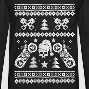 Biker - Awesome biker christmas sweater for fans - Men's Premium Long Sleeve T-Shirt