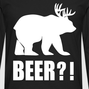 Beer - Awesome beer t-shirt for beer lovers - Men's Premium Long Sleeve T-Shirt