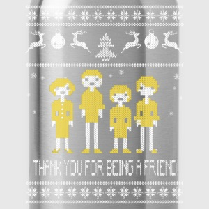The Golden Girls Thanks for being a friend sweater - Water Bottle