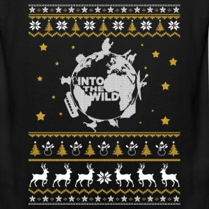 The wild - Into the wild awesome christmas sweater - Men's Premium Tank