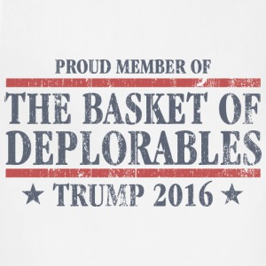 Deplorable For Trump T-Shirts - Adjustable Apron
