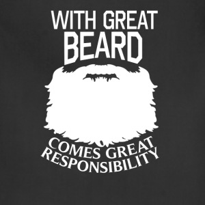 Beard - Great beard comes great responsibility - Adjustable Apron