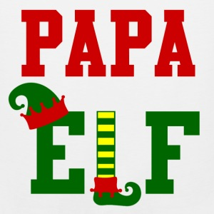 papa elf12.png Kids' Shirts - Men's Premium Tank
