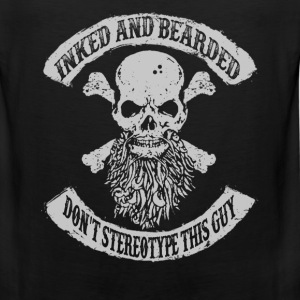 Bearded man - Don't stereotype this guy Gentleman - Men's Premium Tank