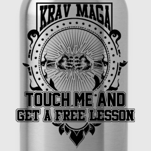Krav maga - Touch me and get a free lesson tee - Water Bottle