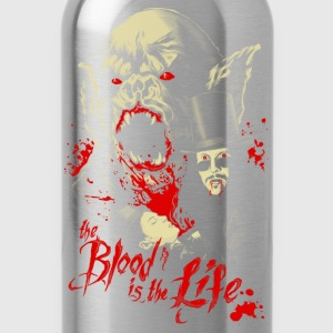 Vampire - The blood in the life awesome t-shirt - Water Bottle