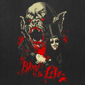 Vampire - The blood in the life awesome t-shirt - Tote Bag