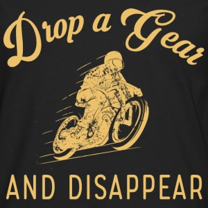 Motorcycle - Drop a gear and disapper t-shirt - Men's Premium Long Sleeve T-Shirt