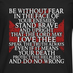 Kingdom of Heaven quote - Protect the helpless - Men's Premium Long Sleeve T-Shirt