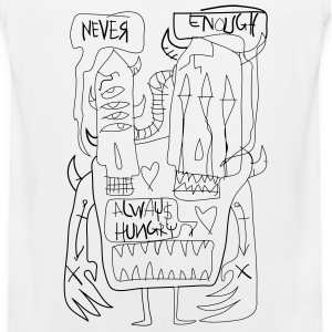 NEVER ENOUGH / ALWAY HUNGRY - Men's Premium Tank