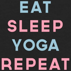 Eat Sleep Yoga Repeat Quote Sportswear - Men's Premium Long Sleeve T-Shirt