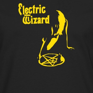 Electric Wizard Doom Stoner Psych Pentagram - Men's Premium Long Sleeve T-Shirt