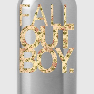 Fall Out Boy flower - Water Bottle