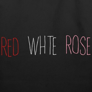 Red White Rose T-Shirts - Eco-Friendly Cotton Tote