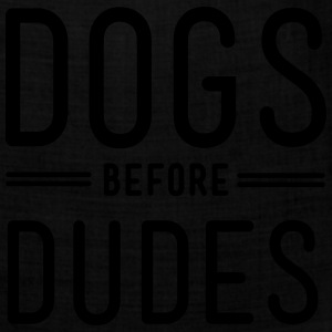 Dogs before dudes T-Shirts - Bandana