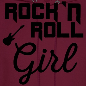 Rock n roll girl T-Shirts - Men's Hoodie