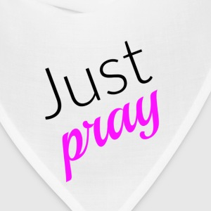 Just Pray - Pink - Bandana