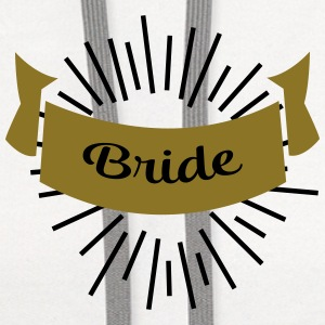 bride T-Shirts - Contrast Hoodie