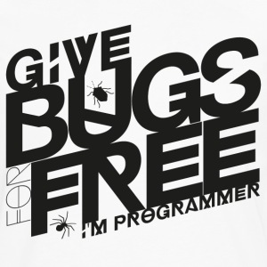 Give bugs for free - Men's Premium Long Sleeve T-Shirt