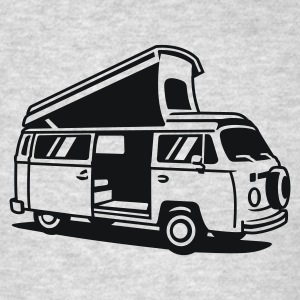 T2 Camper Bus Long Sleeve Shirts - Men's T-Shirt