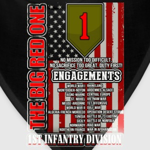1st Infantry division - The big red one - Bandana