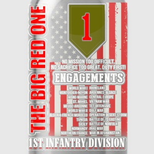 1st Infantry division - The big red one - Water Bottle