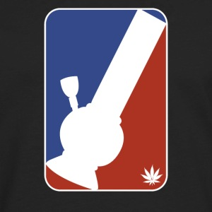 Major League Bong Marijuana Weed 420 Stoner Humor - Men's Premium Long Sleeve T-Shirt