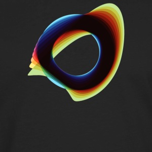 Orbital Wonky Style - Men's Premium Long Sleeve T-Shirt