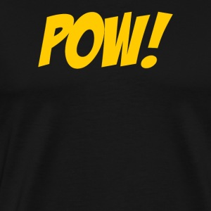 Pow Comic Book - Men's Premium T-Shirt