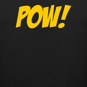 Pow Comic Book - Men's Premium Tank