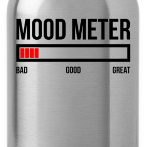 MOOD METER BAD MOOD T-Shirts - Water Bottle