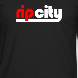 rip city - Men's Premium Long Sleeve T-Shirt