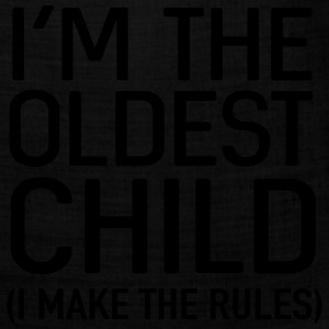 I'm the oldest child. I make the rules Baby & Toddler Shirts - Bandana
