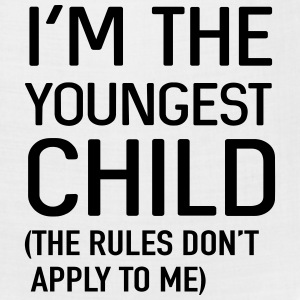 I'm the youngest child. No rules Baby Bodysuits - Bandana