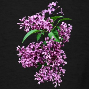 Pstr_ElegantLilacs Bags & backpacks - Men's T-Shirt