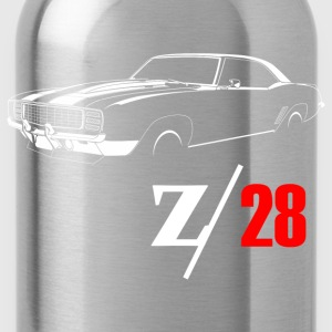 1969 Camaro Z28 Vintage T-Shirts - Water Bottle