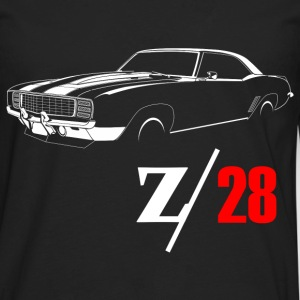 1969 Camaro Z28 Vintage T-Shirts - Men's Premium Long Sleeve T-Shirt
