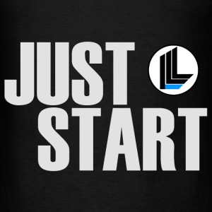 JUST START Hoodies - Men's T-Shirt